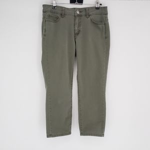 Uniqlo Size 28  Cropped Skinny Straight Mid Rise